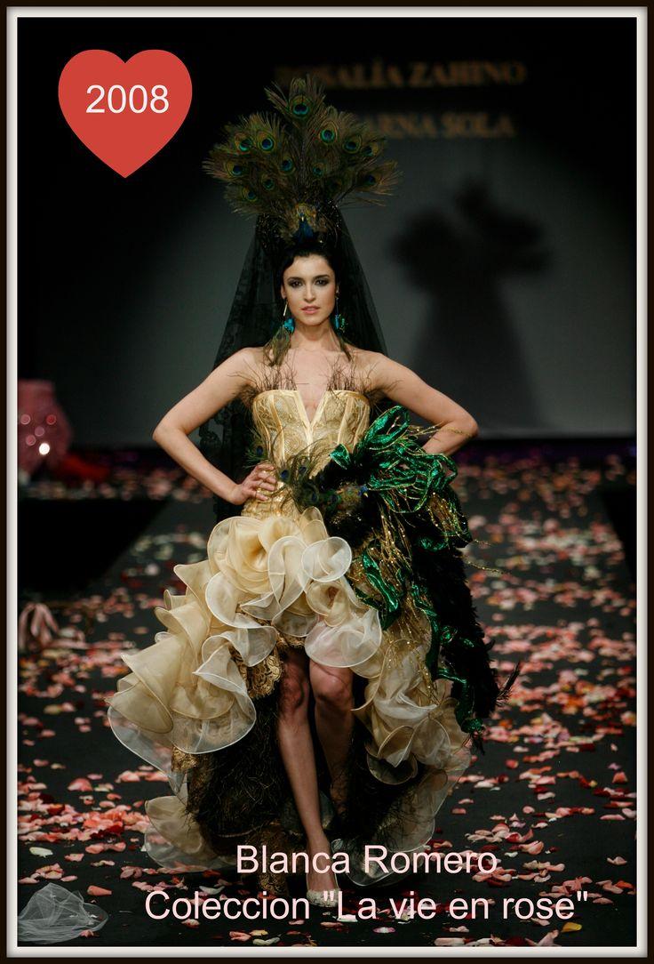 """Blanca Romero en colección """"La vie en Rose"""" 2008"""