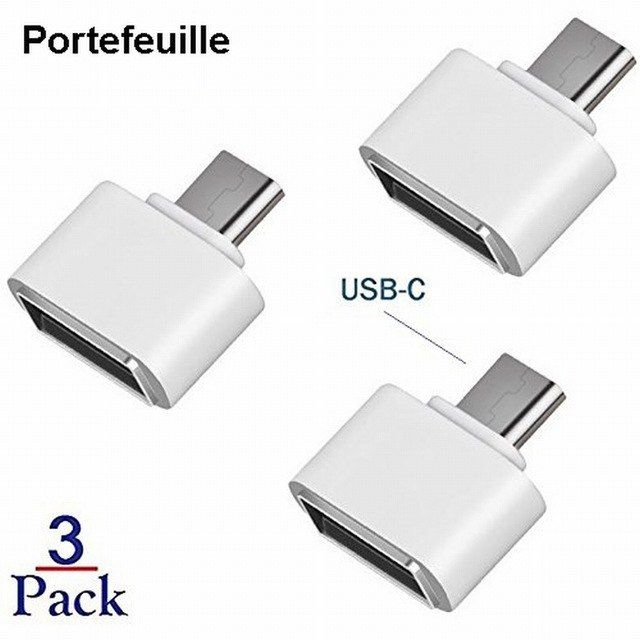 USB-C USB 3.1 Male Type C to USB 3.0 Female OTG Data Cable Connector For LG G5