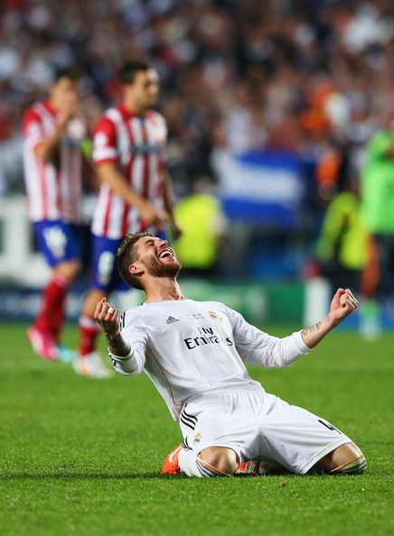 Sergio Ramos - Real Madrid v Atletico de Madrid - UEFA Champions League Final