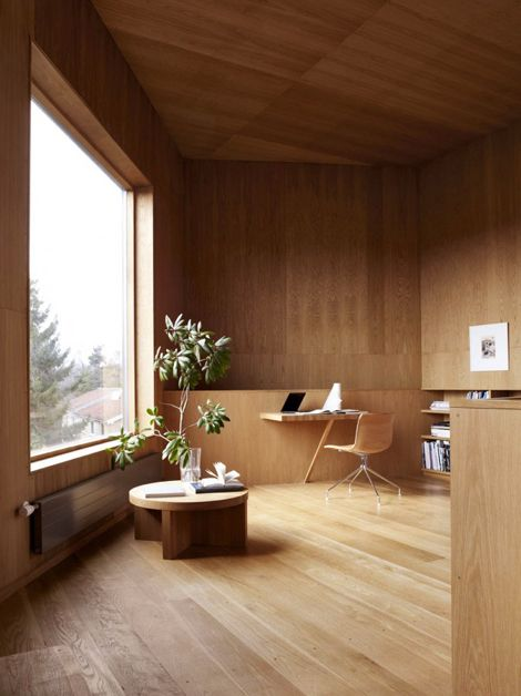 Elegant Interior Living Space with Warm Timber Slats