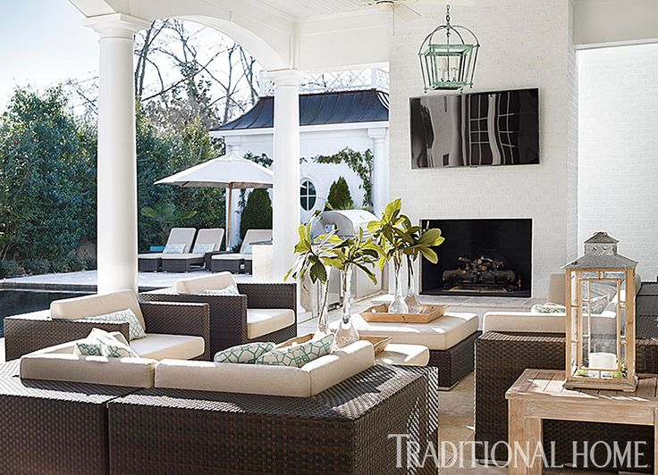 outdoor seating group | Traditional Home