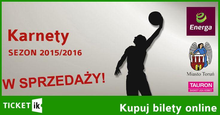 Karnety Energa Toruń sezon 2015/2016. Już w sprzedaży. Z nami taniej. Sprawdźcie: http://ticketik.pl/#!/Wydarzenie/28