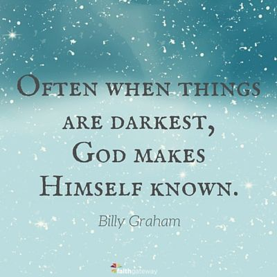 A Message in the Night—Billy Graham