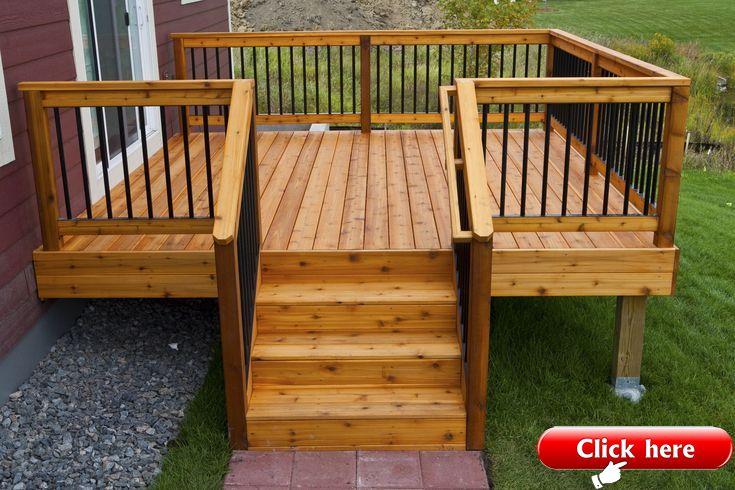 15 Outdoor Deck Ideas For Better Backyard Entertaining 2019 Deck Ideas Wooden Deck Designs Diy Deck Deck Designs Backyard