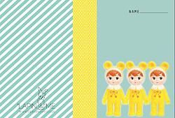 Lapin & Me Dolls Note Book