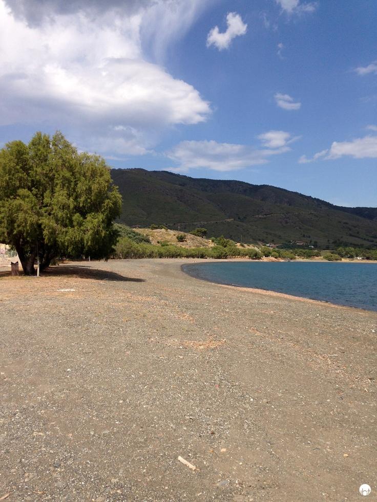 Agios beach Lesbos www.inspiredbytraveling.com