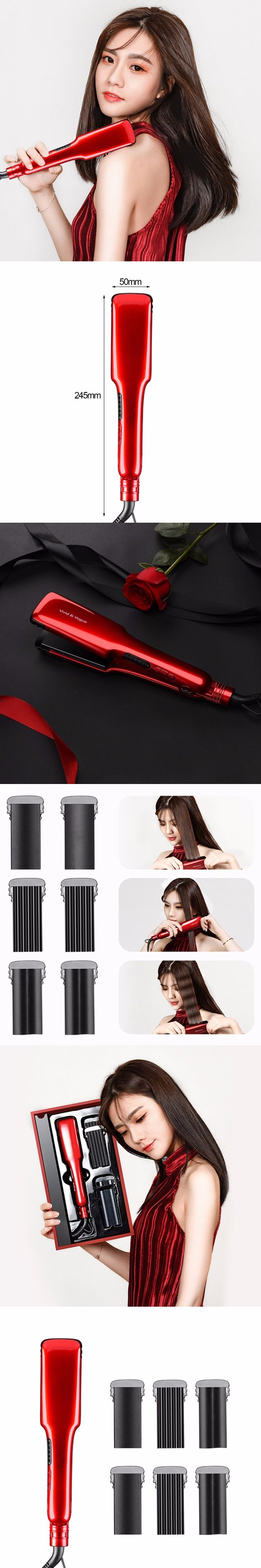Professional Hair Straightener Ceramic Hair Iron Electric Hair Straightening Tools Personal Salon Hair Styling Tools Hot New