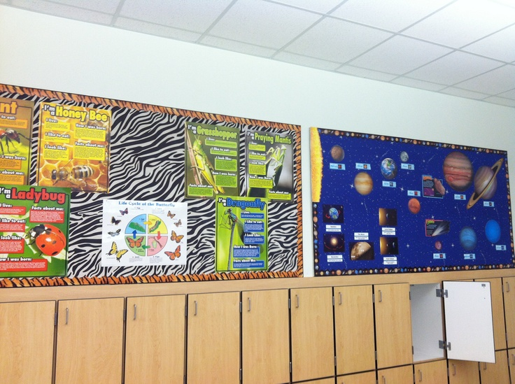 Removable Bulletin Boards Made From 5 Inch Insulation
