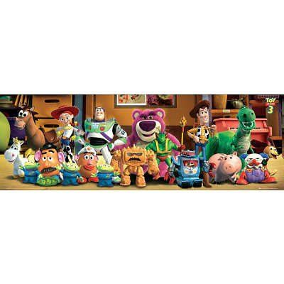(20x62) Toy Story 3 - Cast Door Poster Door Poster @ niftywarehouse.com #NiftyWarehouse #Toy #Story #Movie #ToyStory #Pixar