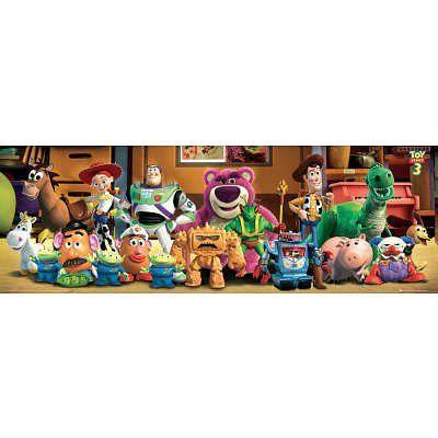 (20x62) Toy Story 3 - Cast Door Poster Door Poster @ niftywarehouse.com #NiftyWarehouse #Toy #Story #Movie #ToyStory #Pixar