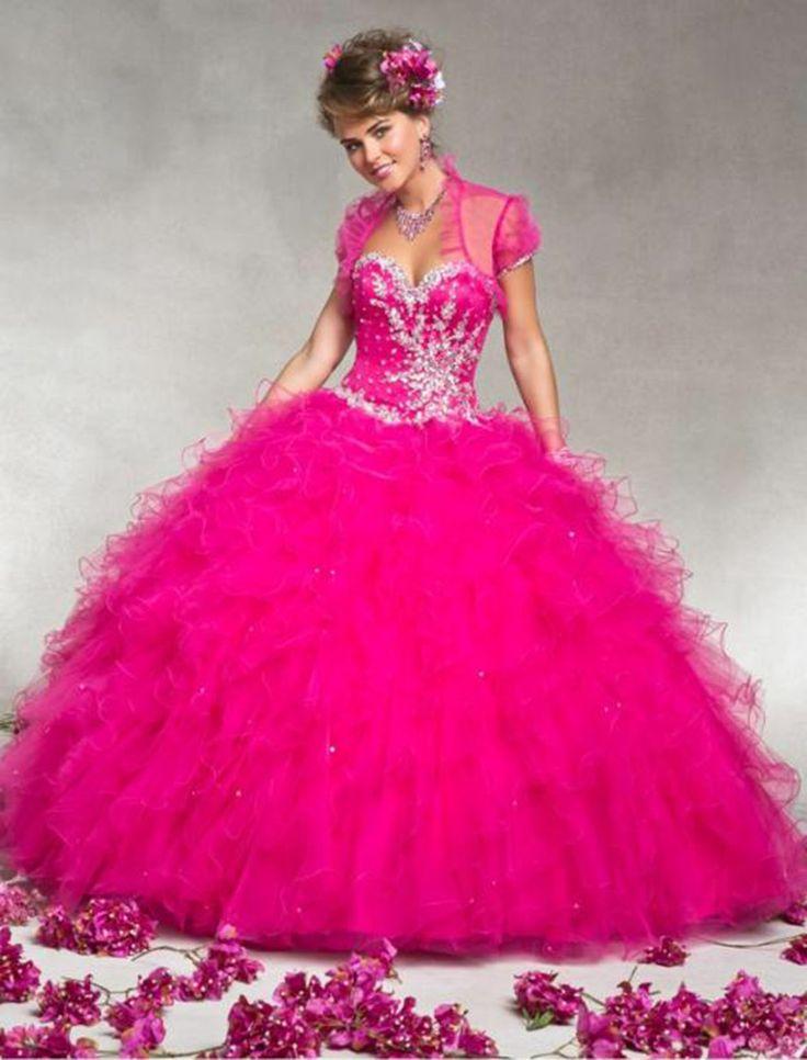 Mejores 62 imágenes de Quinceanera Dresses en Pinterest | Ideas de ...
