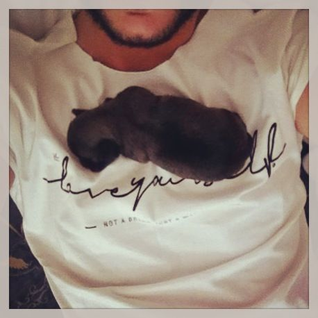 Seen in Milan. Many thnx to Ale e Giancarlo! Lovely puppy <3.