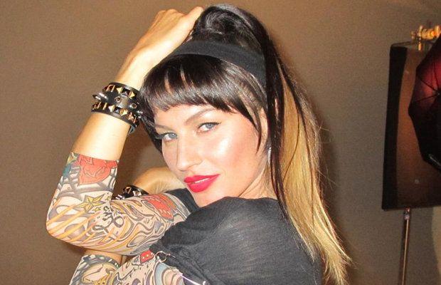 Gisele Bundchen's makeover (Facebook/Gisele Bundchen)