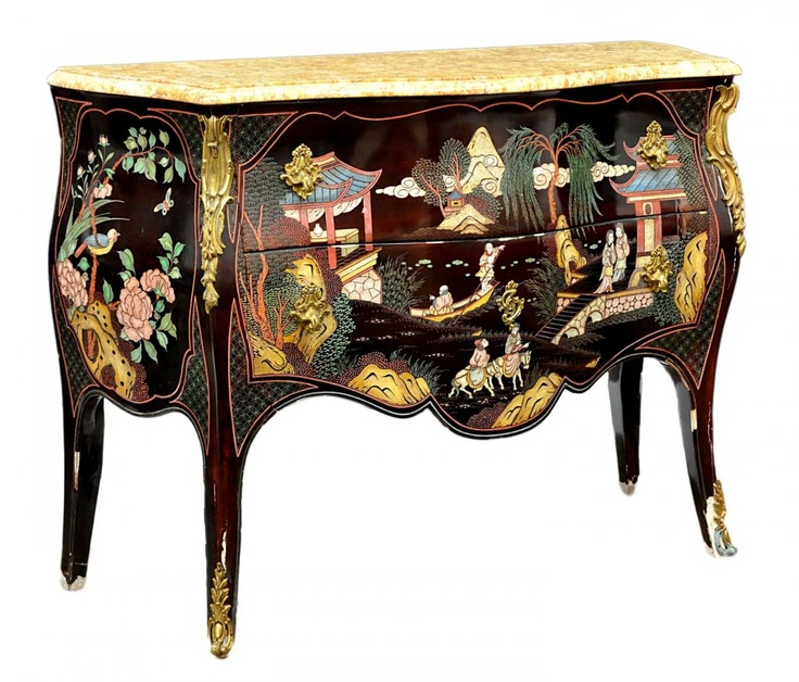 LOUIS XV STYLE MARBLE TOP CHINOISERIE COMMODE. Antique ChestAntique  FurnitureFurniture ... - 518 Best Chinoiserie Images On Pinterest DIY, Accessories And Colors