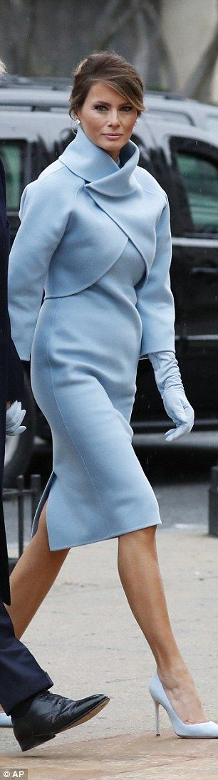 """FLOTUS in Ralph Lauren suit. """"Dress how you wish to be dealt with!"""" Fashion Tips (and a free eBook) here: http://eepurl.com/4jcGX Do your clothing choices, manners, and poise portray the image you want to send? Modest Fashion doesn't mean frumpy!  http://www.colleenhammond.com/"""