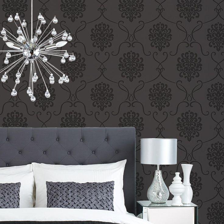 Black Wallpaper For Walls best 25+ baroque wallpaper ideas on pinterest | glitter live