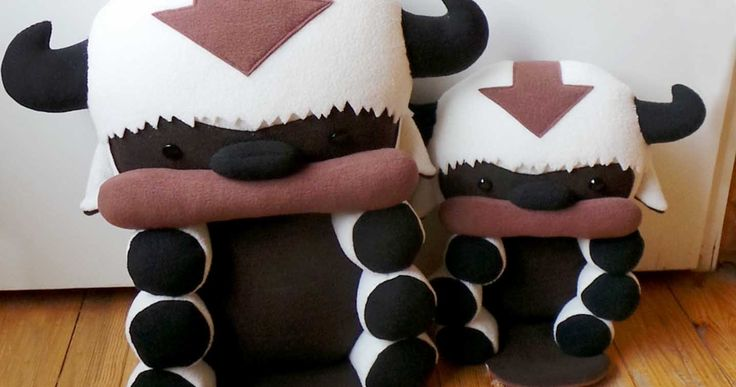 Yip Yip!! Bring home your very own baby Flying Bison! These cute Appa plushies are each handmade with soft, anti-pilling polar fleece and stuffedwith polyfill. Available in two sizes that's guaranteed to charm any Avatar fan!