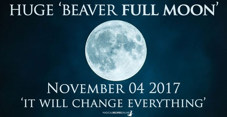 ☽✪☾...Predictions for the Full Moon in Taurus, November 3-4. The Beaver Full Moon. What happens to each zodiac sing? What magic is favoured by the stars?