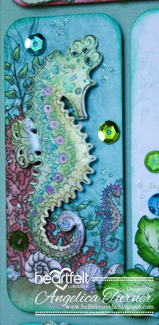 Foldaway Tote - Seahorse Love 2 by VIDA VIDA Bndvg9Oku9