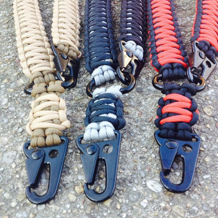 1 and 2 point 550 paracord Rifle slings by FlipsTactical550Gear on Etsy https://www.etsy.com/listing/155187246/1-and-2-point-550-paracord-rifle-slings