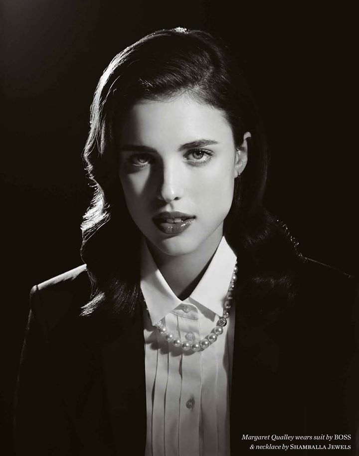 Sarah Margaret Qualley (1994) - American actress and model. Photo © Elle Muliarchyk, 2014