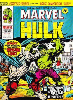 Mighty World of Marvel #194, Hulk vs the Missing Link