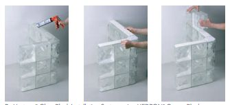 17 best images about install glass block on pinterest for Glass block alternatives