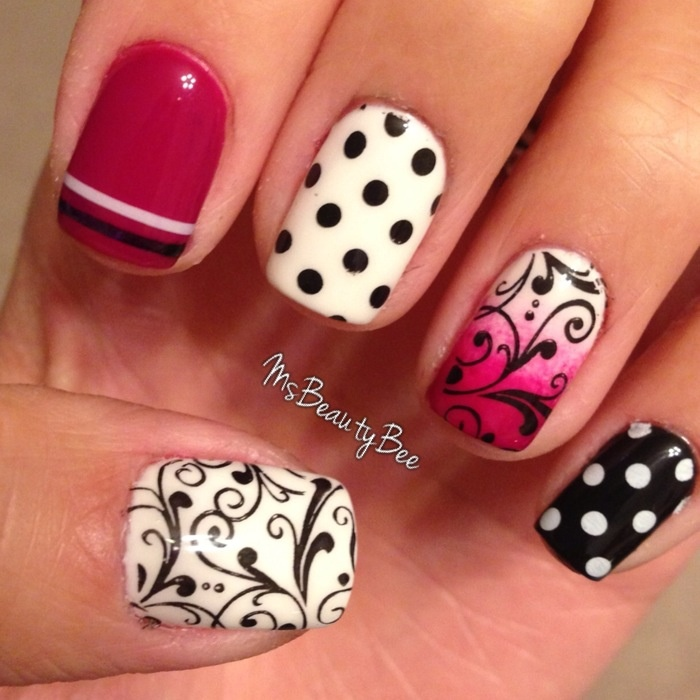 478 best Konad Nail Art Polish Stamping Patterns images on Pinterest ...