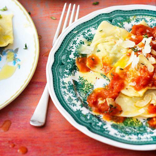 Ravioli op Sardijnse wijze recept - Jamie magazine
