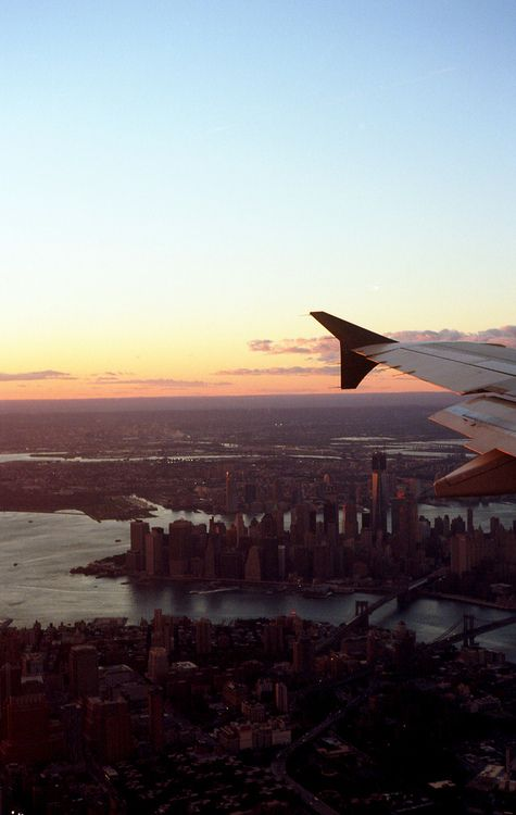 NYC from a plane. Stunning. For jobs within aviation, visit our aviation only job board- us.aviationjobsearch.com