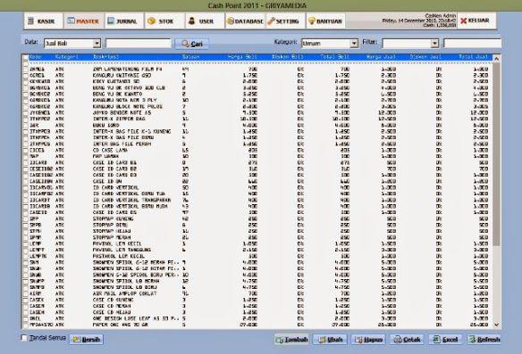 Program Akuntansi Murah Mudah dan Handal: Software Kasir Gratis