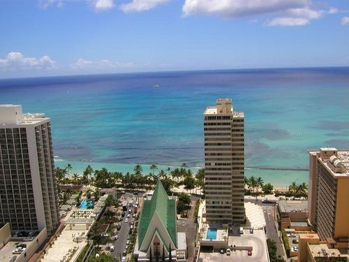 Pretty much my view from the Prince Kuhio hotel in Waikiki.  Must. Go. Back.