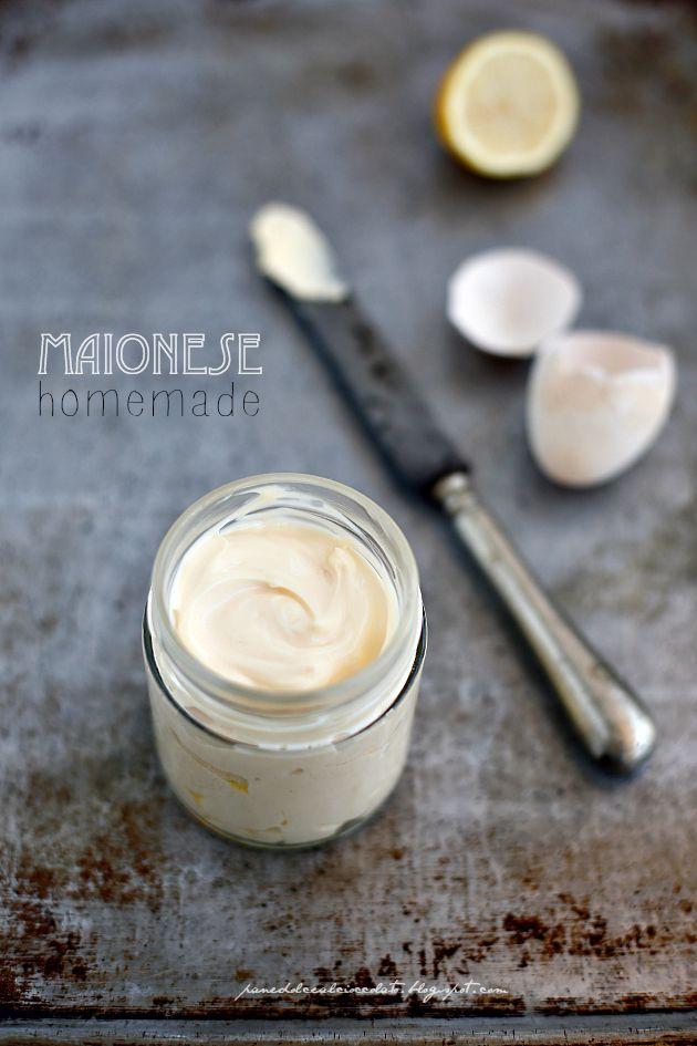 Maionese Homemade (fatta in casa) con il Minipimer | PANEDOLCEALCIOCCOLATO