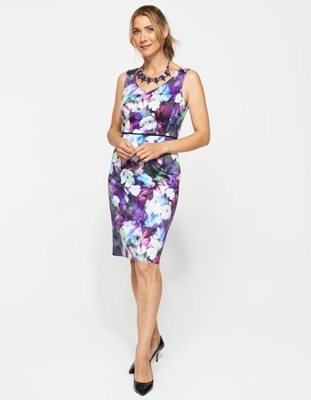 Ashley Print Shift dress, $149 buy 1 get 50% of the 2nd dress. From Jacqui E.