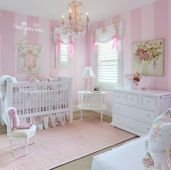 Love everything about this girly room!     Once Upon a Time Vinyl Lettering Decal by ahintofchicboutique, $20.00