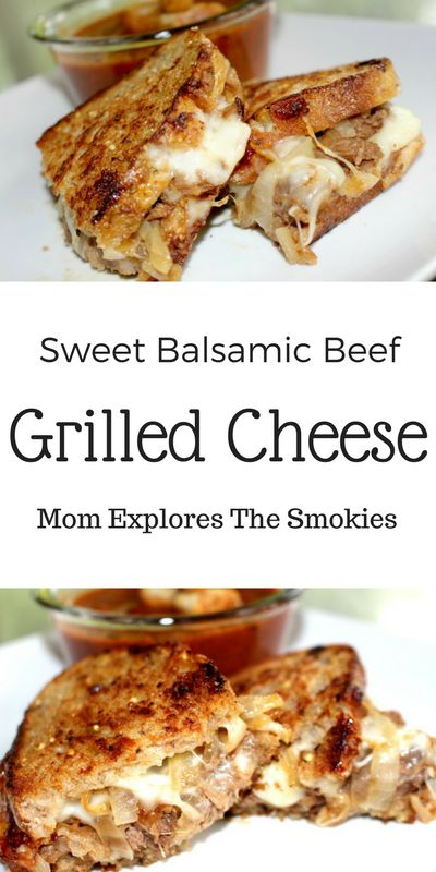 This delicious shredded beef  grilled cheese recipe combines the sweet and sour…