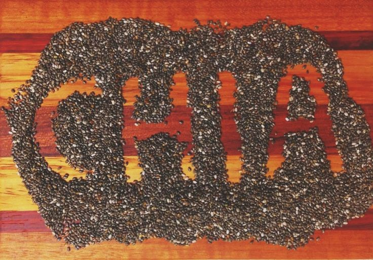 Chia Seeds - Shared by http://www.ggagriculture.net/