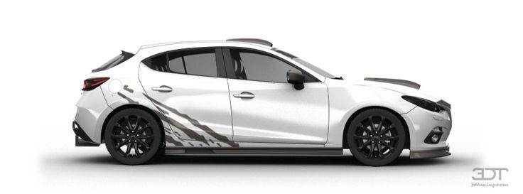 3DTuning of Mazda 3 5 Door Hatchback 2014 3DTuning.com - unique on ...
