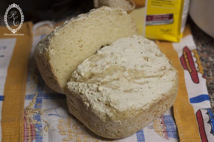 Pão Básico Sem Glúten na Máquina de Fazer Pão (MFP) | RECEITAS & COISAS (SEM GLÚTEN)