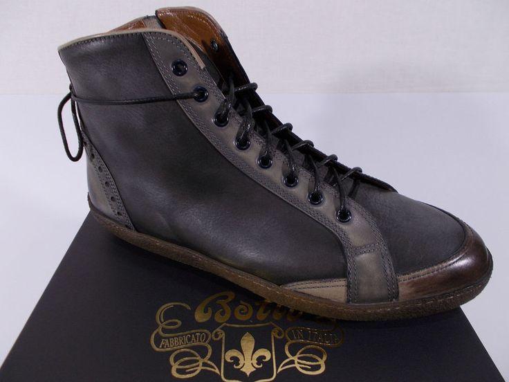BOTTI scarpa uomo STIVALETTO polacchina PELLE VITELLO tg.9½(UK) 43½(IT) NIB