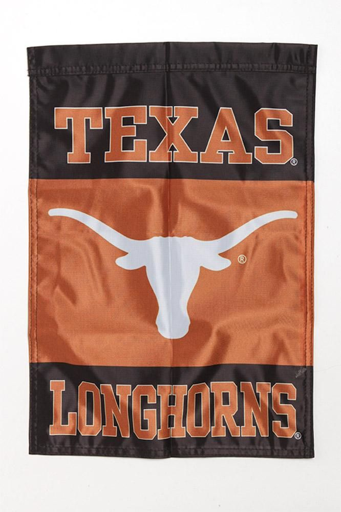 Show your love for the Burnt Orange nation with this Texas Longhorn Colorblock garden banner! Bring the 13