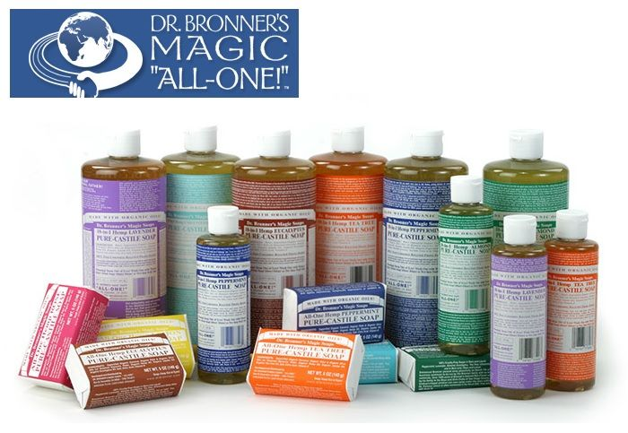 Dr Bronner's Magic Soap: i celebri saponi biologici 100% vegetali