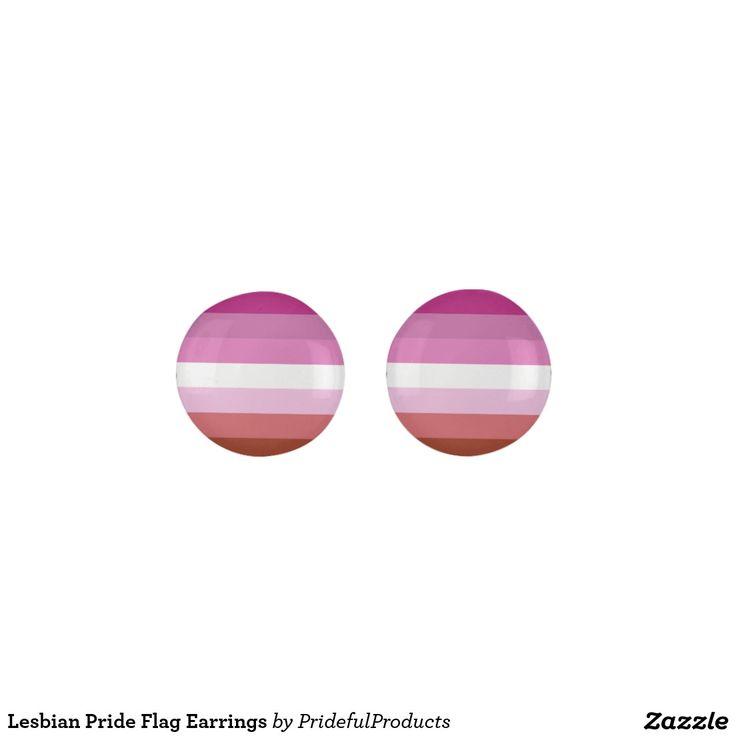 Lesbian Pride Flag Earrings