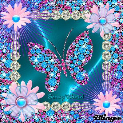 diamonds butterfly