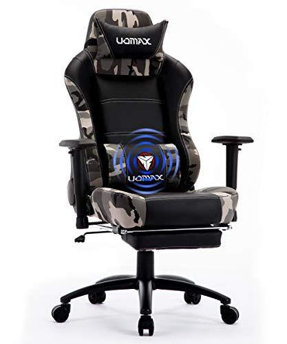 Uomax Chaise Gaming Fauteuil Ergonomique Pour Ordinateur Gamer