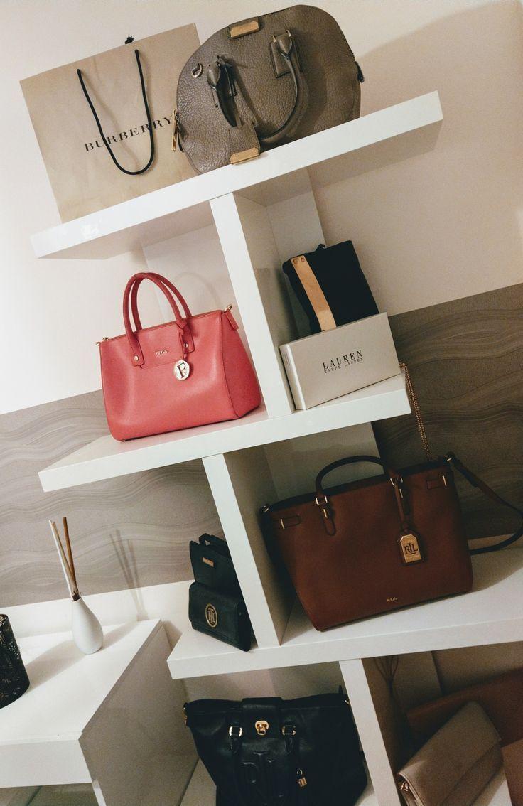 Handbag Storage Handtaschen Regal Furla Burberry Ralph Lauren Tommy Hilfiger Taschen Aufbewahrung Handtaschen Handtaschen Aufbewahrung