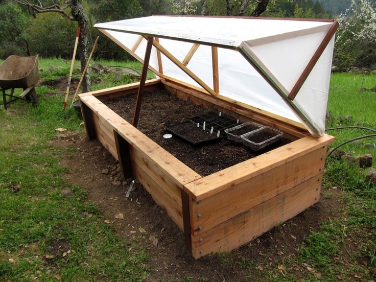 Convertible Planting Box/Greenhouse - Survivalist Forum