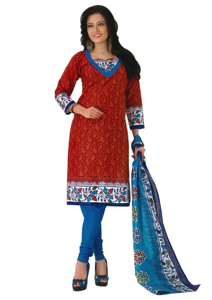 Cotton dress material online shopping cash on delivery | Tu Pintor