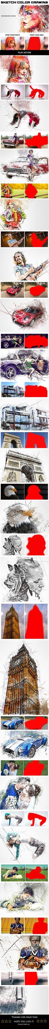 DOWNLOAD:    goo.gl/2CBi2nSketch Color Drawing Photoshop ActionAn Amazing Sketch Color Drawing Photoshop Action with professional Photoshop actions.Photoshop Configure...