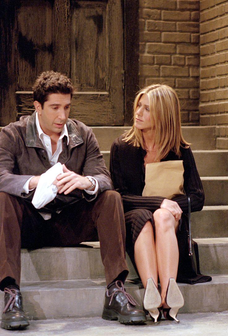 Ross, Rachel Friends Episode Pics Season 08, Episode 3